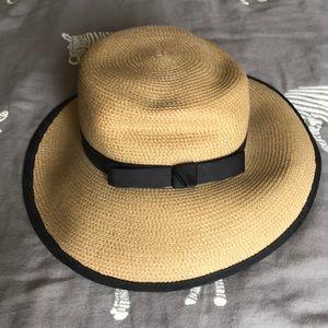 453493858 Eric Javits Sun Crest Woven Sun Hat